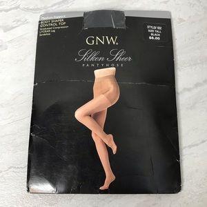 5/$25 NWT GNW black pantyhose